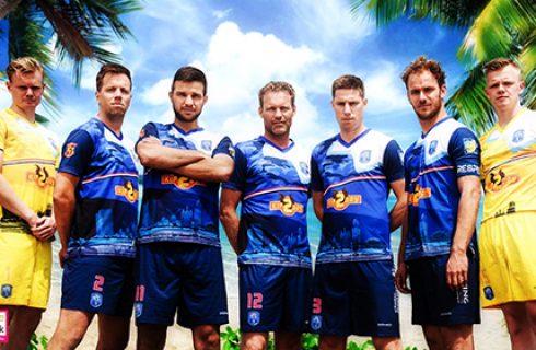 Custom-Shirts-and-shorts-Pelikaan-Beachsoccer